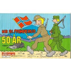 Nr. 91 Stomperud - 50 år - 1937-1987 - Norsk Ukeblad