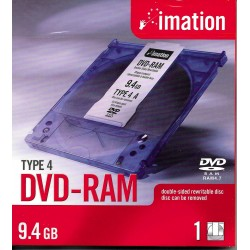 DVD-RAM - Type 4 - 9.4 GB - imation