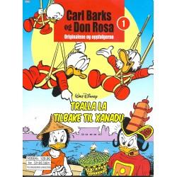 Carl Barks og Don Rosa - Originalene og oppfølgerne - Nr. 1 - Tralla La - Tilbake til Xanadu