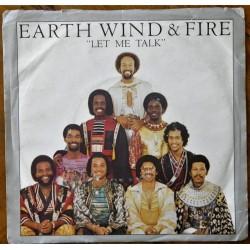 Earth Wind & Fire- Let Me Talk (Singel-vinyl)