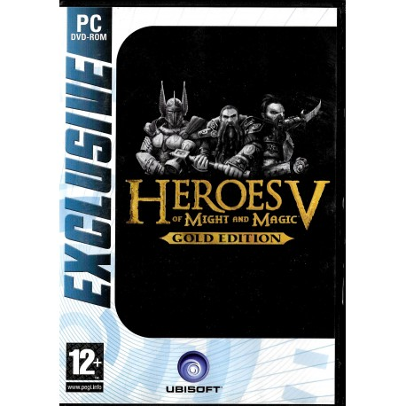 Heroes of Might and Magic V - Gold Edition (Ubisoft) - PC