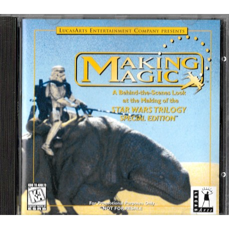 Making Magic: Behind-the-Scenes Look at the Making of the Star Wars Trilogy Special Edition