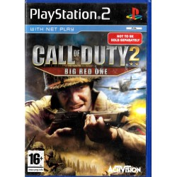 Call of Duty 2 - Big Red One (Activision) - Playstation 2