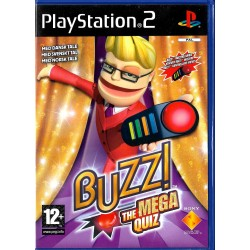 Buzz! - The Mega Quiz - Med norsk tale - Playstation 2