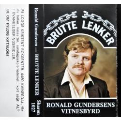 Brutte lenker- Roald Gundersens vitnesbyrd