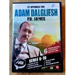 Et oppdrag for Adam Dalgliesh - P.D. James - Serie 5-10 - DVD