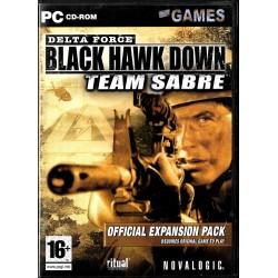 Delta Force - Black Hawk Down - Team Sabre - Official Expansion Pack - PC