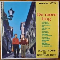 Kurt Foss og Reidar Bøe- De nære ting (LP- Vinyl)