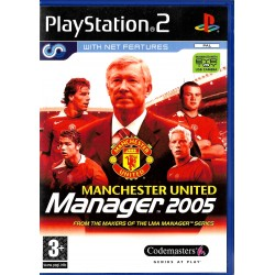 Manchester United Manager 2005 (Codemasters) - Playstation 2