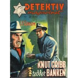 Detektivmagasinet: Nr. 28 - 826 - Knut Gribb redder banken