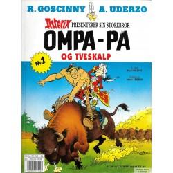 Asterix presenterer sin storebror Ompa-Pa og Tveskalp - Nr. 1 - 3. opplag