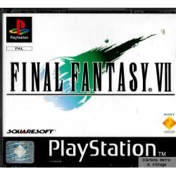 Final Fantasy VII (Squaresoft) - Playstation 1