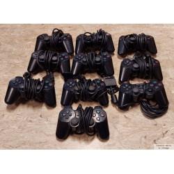 10 x Playstation 2 håndkontroller - Defekte - Pakke 2