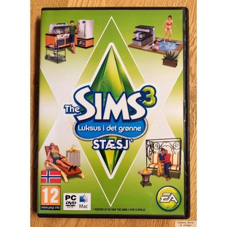 The Sims 3 - Luksus i det grønne - Stæsj (EA Games) - PC