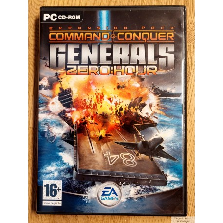 Command & Conquer: Generals Zero Hour (EA Games) - PC