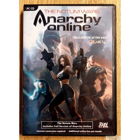 Anarchy Online: The Notum Wars (Funcom) - PC