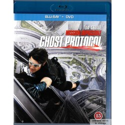Mission: Impossible - Ghost Protocol - Blu-ray + DVD