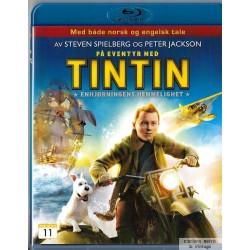 På eventyr med Tintin - Enhjørningens hemmelighet - Blu-ray