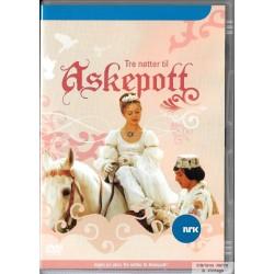 Tre nøtter til Askepott - DVD