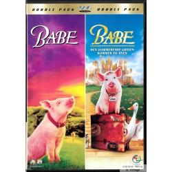 Double Pack - Babe og Babe - Den sjarmerende grisen kommer til byen - DVD