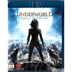 Underworld - The Legacy Collection - Blu-ray