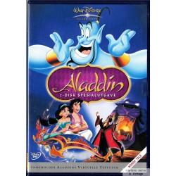 Walt Disney Klassikere - Aladdin - 2-Disk Spesialutgave - DVD