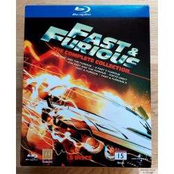 Fast & Furious - The Complete Collection - Blu-ray