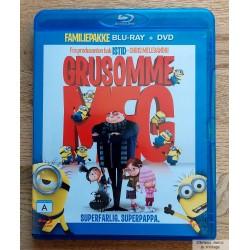 Grusomme meg - Blu-ray + DVD