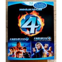 Fantastic 4 og Fantastic 4 - Rise of the Silver Surfer - Blu-ray
