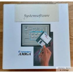 Commodore Amiga System Software - Stor bok i perm med Workbench 2.04