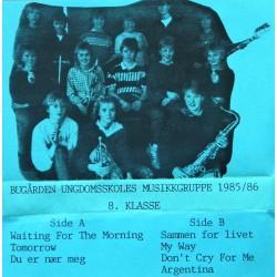 Bugården Ungdomsskoles Musikkgruppe 1985/86
