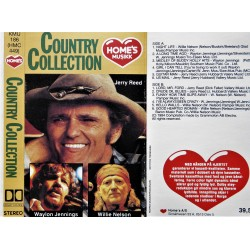 Country Collection- Jerry Reed-Willie Nelson- Waylon Jennings