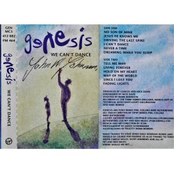 Genesis- We Cant't Dance