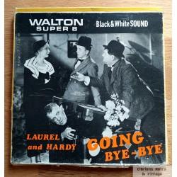 Laurel and Hardy - Going Bye-Bye - Walton Super 8 - Black & White - Sound