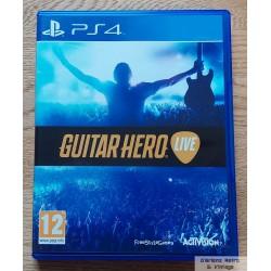 Playstation 4: Guitar Hero Live (Activision)
