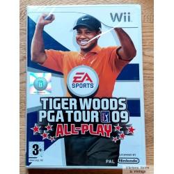 Nintendo Wii: Tiger Woods PGA Tour 09 - All-Play (EA Sports)