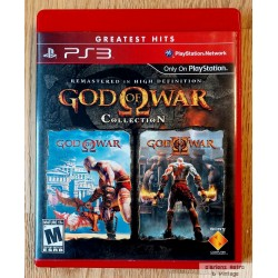 Playstation 3: God of War Collection - Remastered in High Definition