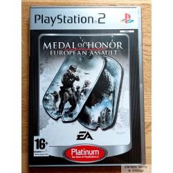 Medal of Honor - European Assault (EA Games) - Playstation 2