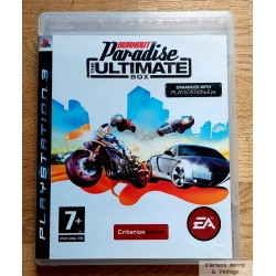 Playstation 3: Burnout Paradise - The Ultimate Box (EA Games)
