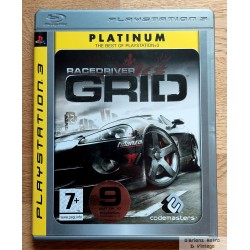 Playstation 3: Race Driver - GRID (Codemasters)