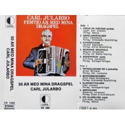 Carl Jularbo- 50 år med mina dragspel