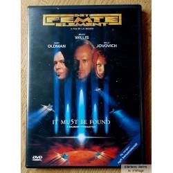 Det femte element - DVD