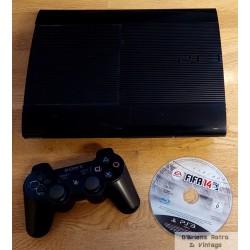 Playstation 3 Super Slim: Komplett konsoll med spill - 465 GB