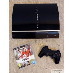 Playstation 3: Komplett konsoll med FIFA 13 - 80 GB