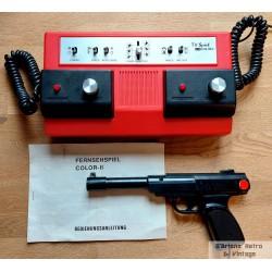 TV Spiel Color 2 - Eldre spillkonsoll med koffert