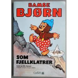 Bamse Bjørn som fjellklatrer