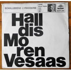 Halldis Moren Vesaas leser egne dikt (Vinyl)