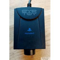 EyeToy kamera - Sort - Playstation 2
