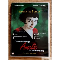 Amelie fra Montmartre (DVD)