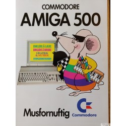 Commodore Amiga 500 - Musfornuftig